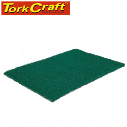 PAD NON WOVEN INDUSTRIAL STRENGTH 150 X 230MM FINE GREEN - GREEN 20PCE