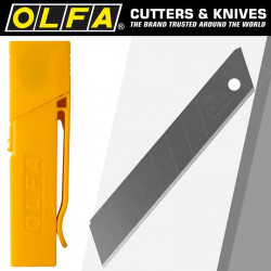 OLFA BLADES LB-30B 30/PACK 18MM WITH BELT CLIP