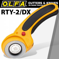 OLFA 45MM ROTARY CUTTER MODEL RTY-2/DX
