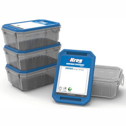 LARGE HARDWARE CONTAINER 4-PACK 114.30X158.80X50 MM