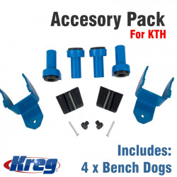 KREG ACCESORY PACK FOR KTH INCL. 4 X BENCH DOGS