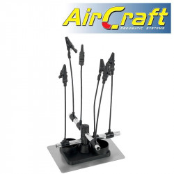AIRBRUSH HOLDER WITH 6 CLIPS