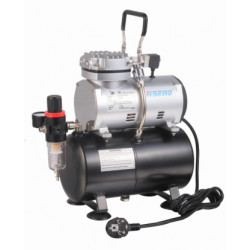 COMPRESSOR FOR AIRBRUSH 1CYL ON TANK 3LTR (AS189)
