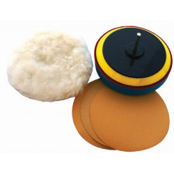 SANDING & POLISHING KIT 125MM 5' WITH 400-600 AND 800 GRIT