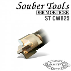 CARBIDE TIPPED CUTTER 25MM /LOCK MORTICER FOR WOOD SCREW TYPE
