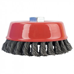 WIRE CUP BRUSH TWISTED 125MMXM14 BULK