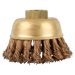 WIRE CUP BRUSH N/SPARK TWISTED 80MMXM14 BULK